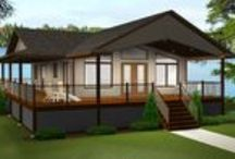 Cottage & Cabin Getaways / Make one of these designs your Summer or Winter Getaway or build it your place of residence at one of our many beautiful Canadian or US lakes, golf courses, or mountain retreats.