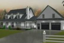 Acreage & Country Charm / Our collection of great ranch style designs for the country farm or acreage.  Choose from various home plans that will suit your needs.