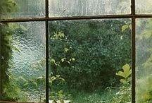 Home . Near a window