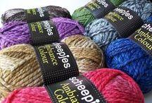 Wol / Een kleine selectie wol soorten die u kunt vinden bij Het Kleine Winkeltje.
