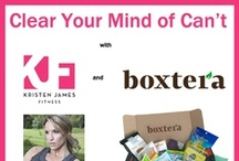 Clear Your Mind of Can't / Show @kristenjamesfit and #Boxtera why YOU deserve a #free box of #healthysnacks! See rules pinned to contest board below. #fitness #nutrition #organic #healthyeating