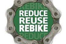 Recycled / Újrahasznosított bicikli alkatrészek