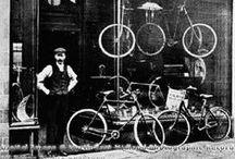 Régi kerékpáros idők / Old times