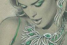 jewellery illustration I / by Less-Ordinary Designer