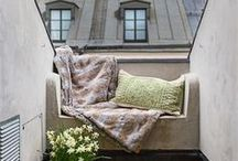 Outdoors - private intimate spaces