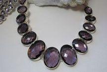 Amethyst -Quartz -Prasiolite / #Amethyst #Gemstone #Jewelry  http://www.andreajayecollection.com/collections/amethyst #Quartz #Crystals