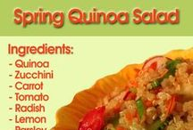 Quinoa Recipes / Deliciously Healthy Quinoa Recipes