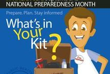 Emergency Preparedness / Find important information on how to prepare for disasters that might strike in your area. / by NLM_4Caregivers