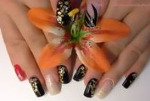 allow your nails to spa / nails my work