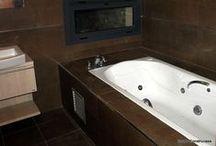 Baños - Bathroom / Diseño, reforma, y construcción de baños, por Grupo Construcasa. Tu casa se merece una arquitectura personalizada. Design your bathroom.