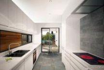 Cocinas - Kitchens / Diseño, reforma, y construcción de cocinas, por Grupo Construcasa. Tu casa se merece una arquitectura personalizada. Design your Kitchen.