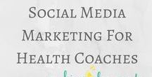 Social Media Marketing for Health Experts / Social media marketing tips and tricks from MakingLemonade.ca and other popular marketing and business blog from Pinterest | social media marketing, social media marketing tips, become a health coach, health coaching business, fitness coach business, social media fitness, dietitian business tips, health practitioner, instagram, pinterest, twitter, tumblr, facebook, social media tips, grow social media accounts, nutritionist