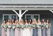 Wedding Day: Bridesmaids / You have your man, now all you need is your girls (and a ton of pins for your bridesmaids). Don't forget to spoil your bridesmaids with gifts from our Top Ten Bridesmaids Gift Ideas: http://www.abrideonabudget.com/2015/03/top-ten-bridesmaids-gift-ideas.html. Check out all our Pinterest boards at http://pinterest.com/abrideonabudget.