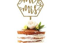Food: Cake Toppers / Something has to go on top of your cake. Get some fun wedding cake toppers ideas here. I actually made our Adirondack chair cake toppers. You can see them here: http://www.abrideonabudget.com/2015/06/diy-adirondack-chair-cake-topper.html. Check out all our Pinterest boards at http://pinterest.com/abrideonabudget.