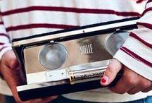 CLUTCH / Stellé Audio Couture Clutch.