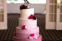 Food: Cakes / A whole board of wedding cakes. This board, lucky, is calorie free. You can see our wedding cake here: http://www.abrideonabudget.com/2014/07/is-cupcake-trend-over-and-photos-of-my.html. Check out all our Pinterest boards at http://pinterest.com/abrideonabudget.