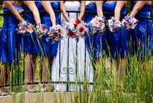 Lovely Bouquet Arrangements / Beautiful wedding day flower arrangements for you and your bridesmaids...and a few boutonnieres for the groom too.