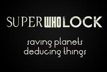 SuperWhoLock / Saving planets. Deducing things.