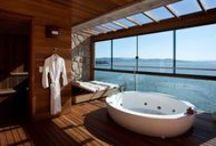 Beautiful Bathrooms / by Homes And Hues
