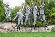 Grooms are Important Too! / A collection of ideas for grooms on their wedding day.