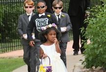 Flower Girls and Ring Bearers / Are your flower girls and ring bearers as adorable as these from past Stonebrook Manor weddings? We bet they are.