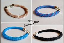 My beads jelewry / More things here:https://www.facebook.com/pages/Domowy-folklor/524316920939617?fref=ts