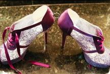 Stylish Shoes for Every Bride / Dress up your feet for a day of comfortable elegance.