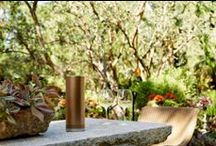 DREAM OUTDOOR SPACES / The weather is warmer, the days are longer and there is nothing we would rather be doing than spending time listening to music on a Stellé Audio wireless Pillar speaker and relaxing outdoors.