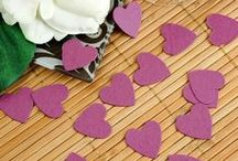 Color: Purple Wedding Ideas / Are you planning a purple wedding? (Our colors were eggplant, lilac, and silver, so I'm quite fond of a purple wedding idea). Get inspiration here. Plus, be sure to check out our purple DIY table setting here: http://www.abrideonabudget.com/2015/06/diy-wedding-table-setting.html. Check out all our Pinterest boards at http://pinterest.com/abrideonabudget.