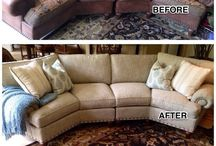 Our Reupholstery Portfolio / We provide top quality reupholstery services- this is a sampling of our work.
