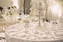 Colors: White Wedding Ideas / It's a nice day for a white wedding - Billy Idol  Get all your white wedding inspiration here. And be sure to view our white wedding inspiration board post: http://www.abrideonabudget.com/2015/03/white-wedding-inspiration-board.html. Check out all our Pinterest boards at http://pinterest.com/abrideonabudget.