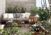 OUTDOOR BEREICHE / Ob Balkon, Terrasse oder Garten- auch Outdoorbereiche können modern, funktionell und stylisch eingerichtet werden. Unsere Favoriten und Inspirationen dazu findet ihr hier: