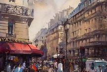ART / Art, inspiration, watercolor, oil, pencil drawings