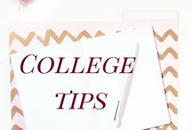 College Tips / College tips and advice, college freshman, college preparation, college habits, college life, college student, college girl, college lifestyle, college budget, college motivation
