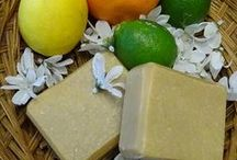 Goat Milk Soap / The soap that we offer at Phoenix Farm Fiber is handmade in small batches from all natural goat milk soap purchased from a local nubian goat dairy.
