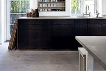 Kitchen / Modern l Concrete l Natural l Chrome l Rustic