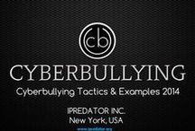 Cyberbullying Tactics 2014 / Cyberbullying continues to grow devastating both pre-pubescent and adolescent children. Unlike pre-Information Age bullying, cyberbullies and their tactics are primarily designed and instituted in the hidden realm of cyberspace. No one knows the depths Information Age children will venture in their practices to harm other children. This Pinterest board includes content and images relevant to bullying, cyberbullying and cyberbullying tactics compiled in 2014.
