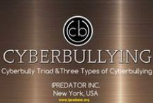 Cyberbully Triad / The Cyberbullying Triad is a term used to describe the three typologies of children that engage in harming other children using Information and Communications Technology (ICT). This writer's terms used to categorize cyber bullies include the Ignorant Cyberbully, Righteous Cyberbully and Narcissistic Cyberbully. Of the three profiles, the Narcissistic Cyberbully is the most problematic having the highest probability of engaging in malevolent and nefarious online activities as an adult.