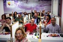CATA Vinos DOP Alicante & SushiUP / Lo resumimos nosotros, pero el mérito de las fotos es vuestro y es que nada mejor que estas imágenes para que os hagáis una idea de lo bien que lo pasamos en la Cata-Maridajes de Sushi y Vino Alicantino…. ¡Mil gracias! ;)