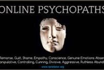 Online Psychopaths / Online Psychopathy is an Information Age criminology and human consciousness construct replacing classic sociopathy and psychopathy. iPredopathy is a severe character disorder describing anyone who skillfully uses cyberspace to troll, identify, control and manipulate others. Driven by grandiosity or sexual perversion, they experience no remorse or guilt. Many iPredopaths do not break the law and live unscathed by law enforcement, organizations, religious institutions and the legal system.