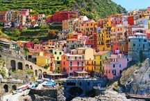 Italian Places / Beautiful places around Italy, whether in the big cities or the lush hills
