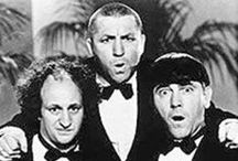 The Three Stooges - Nyuk, Nyuk, Nyuk! / All the birdbrain and numbskull fans of the Stooges. It hoits me to say that Moe! / by Wishmaster J.M. Zarquon