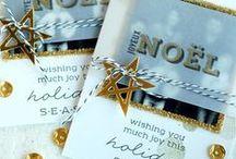 cartes Hiver et Noël