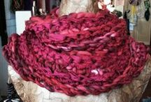 Awesome Scarves / I love all scarves -- soft & chunky scarves, long & skinny, cowls, fringed.....