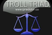 Troll Triad / Troll Triad is a webpage, Pinterest board and group dynamics construct describing how iPredators use Information and Communications Technology to slander, defame and character assassinate their targets. Troll Triad is also a cybercriminal and cyber psychological concept depicting how members within these groups assume archetypal roles in their defamation campaigns in both online and online environments. These archetypes include the Cerebral, Provocateur and Crier.