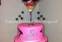 hairdresser cakes
