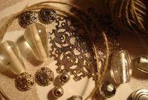 ⏬  BIJOUX FIL DE LIN ⏬ / http://www.pinterest.com/webinternet/mes-creations-de-bijoux ❤️ naviginternet@orange.fr ❤️ MON BLOG : http://creatrice-bijoux.blogspot.fr