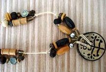 ♥ BIJOUX MARRON BOIS / http://www.pinterest.com/webinternet/mes-creations-de-bijoux ❤️ naviginternet@orange.fr ❤️ MON BLOG : http://creatrice-bijoux.blogspot.fr