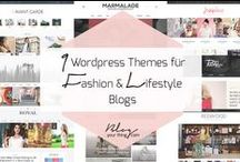 Wordpress Themes / Feminine Wordrpess Themes für Blogger