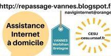 """♥ AIDE A DOMICILE :CESU: Pays de Vannes ((http://repassage-vannes.blogspot.fr)) / ((http://repassage-vannes.blogspot.fr)) (( naviginternet@orange.fr )) Valérie :: cesu.urssaf.fr = payée avec le CESU = CHEQUE EMPLOI SERVICE UNIVERSEL : """"L'assistance aux personnes âgées ou aux autres personnes qui ont besoin d'une aide personnelle à leur domicile, à l'exception d'actes de soins relevant d'actes médicaux"""" + """"L'assistance informatique et internet à domicile"""""""